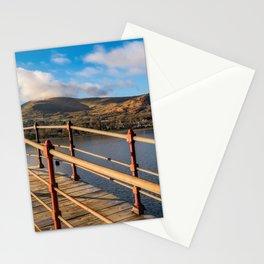 Padarn Lake Footbridge Stationery Cards