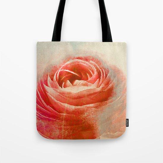 Vintage Ranunculus(3). Tote Bag