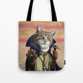 Sorcerer Cat Tote Bag