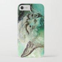 yoda iPhone & iPod Cases featuring YODA by ARTito