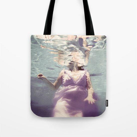 Dive in Violet Tote Bag