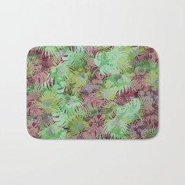 Seamless Pattern of Tropical Leaves II Bath Mat
