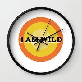 Je Suis Farouche Wall Clock