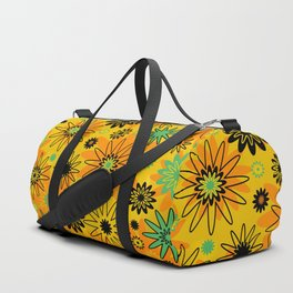 Orange Burst Duffle Bag