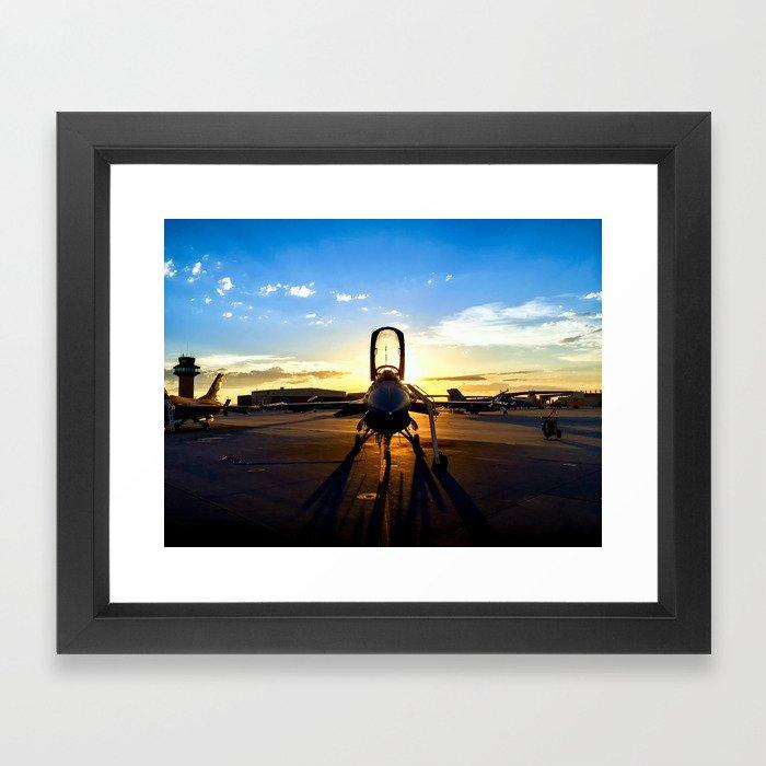 Viper at Sunset Framed Art Print