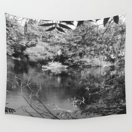 Pine Woods Of East Texas Exhibit Wall Tapestry
