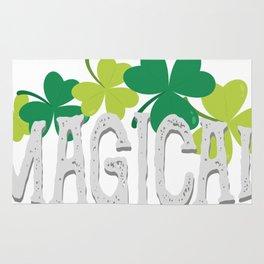 Magical Love Unicorn St Patricks Day Kids Girl Women Rug