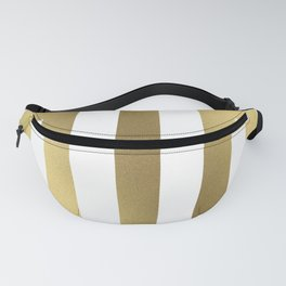 Gold Greek Stripes Fanny Pack