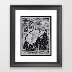 West Virginia Framed Art Print