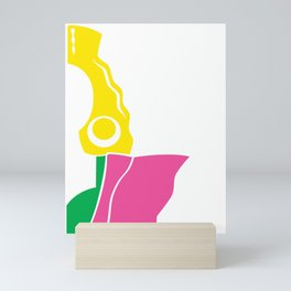 Gemini Sister 2 Mini Art Print