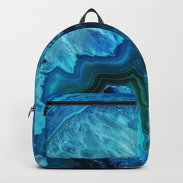 Bright Blue Agate Backpack