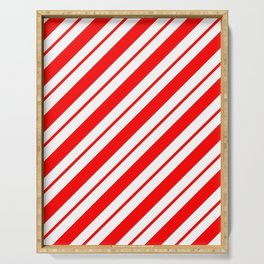Peppermint Stripes Serving Tray