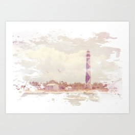 Summertime at the Cape Art Print