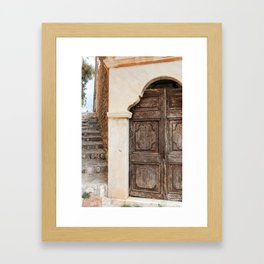 The Way to Greece II Framed Art Print