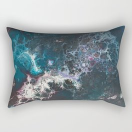 Trapped in the Bubbles Rectangular Pillow