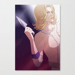 Knife (Skyler White - Breaking Bad) Canvas Print