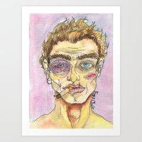 Fight Club Night Art Print