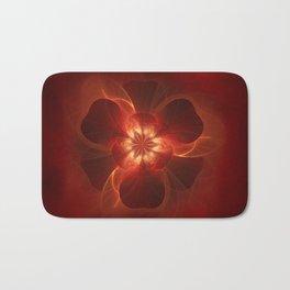 Fire Flower Bath Mat