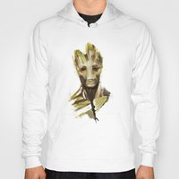 groot Hoodies featuring Groot by cos-tam