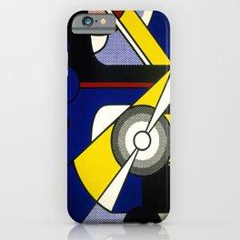 Roy Lichtenstein - Aviation 1967 iPhone Case