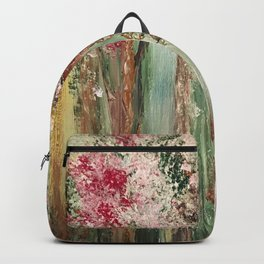 Woods in Spring Backpack