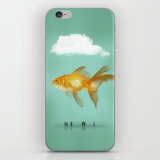 BALLOON FISH  III iPhone & iPod Skin