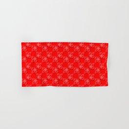 Red dress run 2 Fleur Hand & Bath Towel