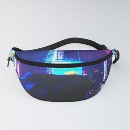 Cyberpunk Future World Fanny Pack