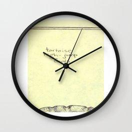 Tortoise High-Jump Wall Clock