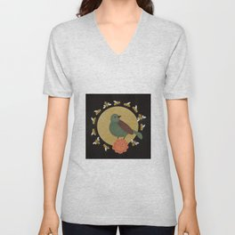 The Bird and the Bees Unisex V-Neck