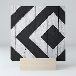 Black and White Illusion Mini Art Print