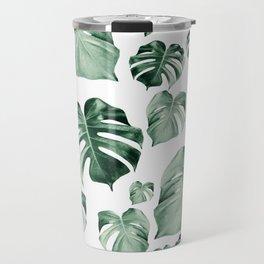 Tropical Monstera Pattern #2 #tropical #decor #art #society6 Travel Mug