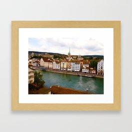 Zürich Framed Art Print