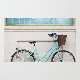 Pastel bycicle Rug