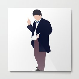 Second Doctor: Patrick Troughton Metal Print