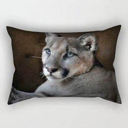 The Mountain Lion Rectangular Pillow
