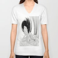 relax V-neck T-shirts featuring Relax by Laake-Photos
