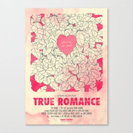 True Romance Canvas Print