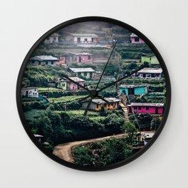 Sri Lankan Town Wall Clock