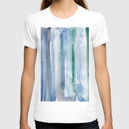 17     190907   Watercolor Abstract Painting T-shirt