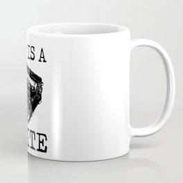 Art Is A Write Coffee Mug