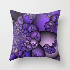 Perplexity of Purple Throw Pillow