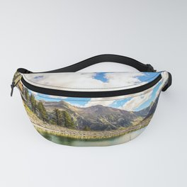 Pond in the Alps Fanny Pack