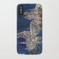 hogwarts iPhone & iPod Cases featuring Hogwarts Painting  by Christina Brunnock