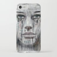 woman iPhone & iPod Cases featuring woman by teddynash