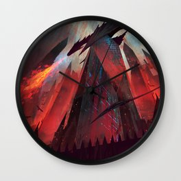 Living Flame Wall Clock