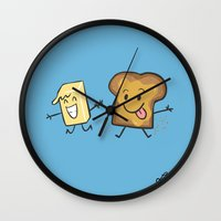 Kaya Toast Wall Clock