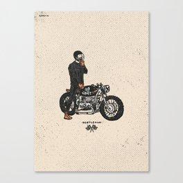 Caferacer Gentleman Canvas Print