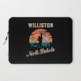 Williston North Dakota Laptop Sleeve
