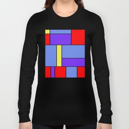 Abstract #482 Long Sleeve T-shirt